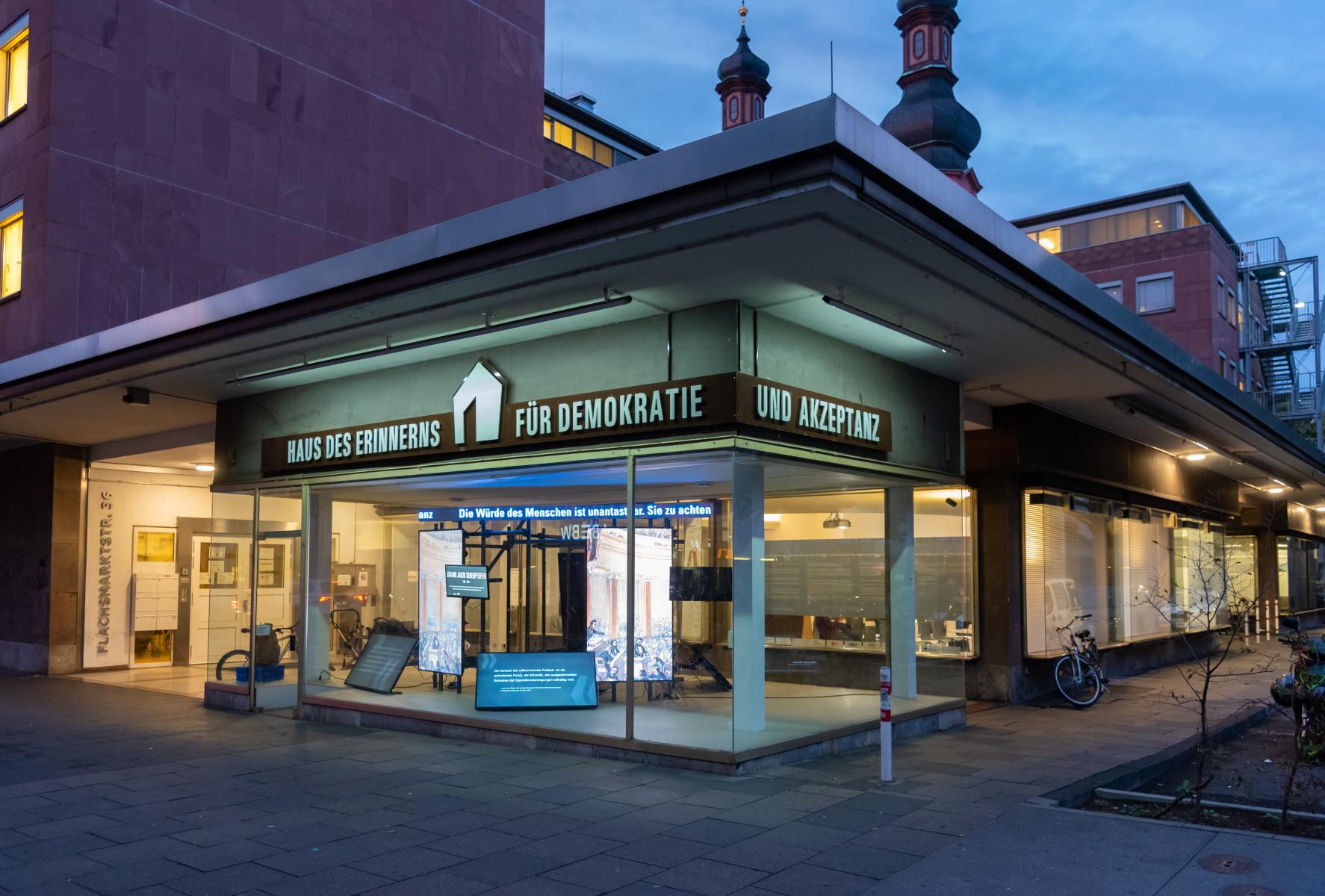 Das Haus des Erinnerns – für Demokratie und Akzeptanz Mainz
